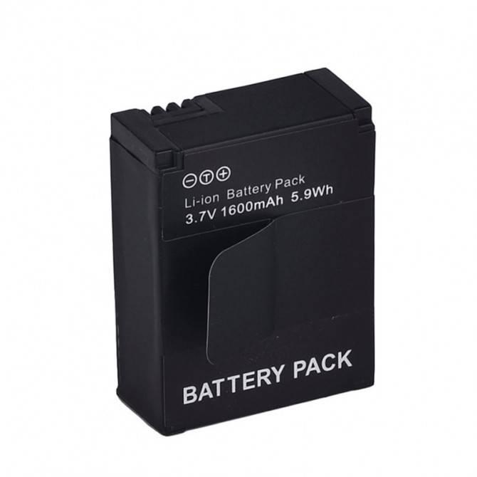 Batteri till GoPro Hero3+/3 - ersätter AHDBT-301/AHDBT-302 - 1600mAh
