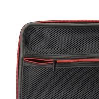 Väska till DJI Mavic Pro och tillbehör - Svart / Röd - Mellanstorlek