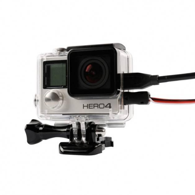 Skyddande skal med öppen sida till GoPro Hero4/3+