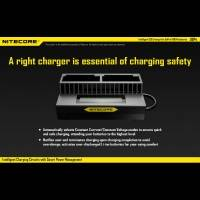 Nitecore Batteriladdare UGP4 för GoPro Hero4/3 batterier - Dubbel AHDBT-401, 301, 201