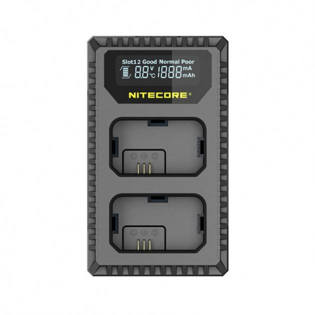 Nitecore Batteriladdare USN1 för Sony NP-FW50 batterier - Dubbel