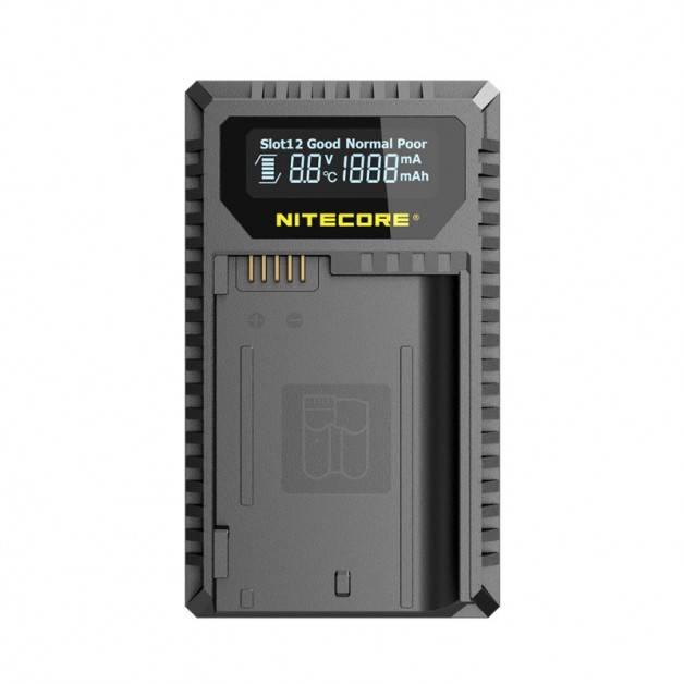 Nitecore Batteriladdare UNK2 för Nikon EN-EL15 batterier - Dubbel