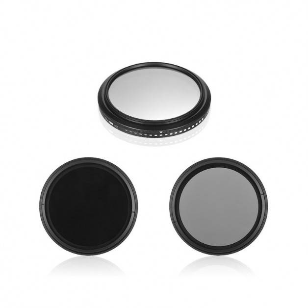 ND-Filter ND2-400 Variabelt ND-värde - 52mm - Kit