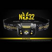 Nitecore NU32 Pannlampa - 550lm