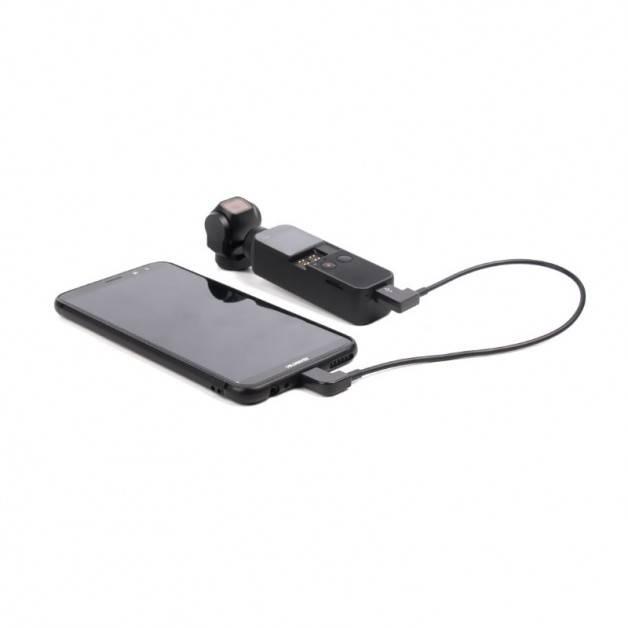 Datakabel för DJI Osmo Pocket till Android - USB-C till Micro USB - 20cm