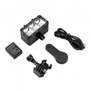 Belysning LED vattentät dyklampa till GoPro