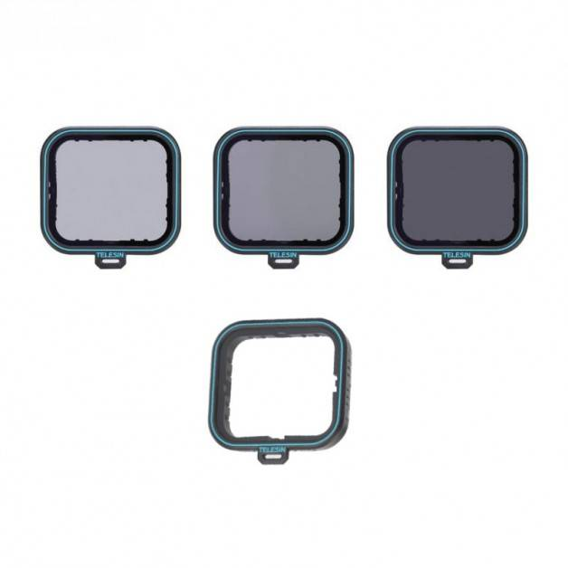 Filter 4-pack - ND4 + ND8 + ND16 + CPL till GoPro Hero5/6/7 - Kit