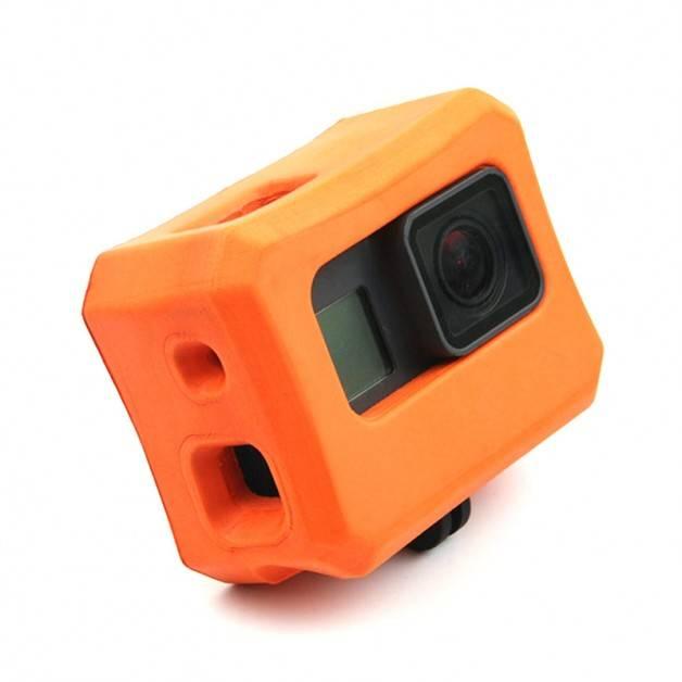 Flytande skyddsskal till GoPro Hero5/6/7 - Orange