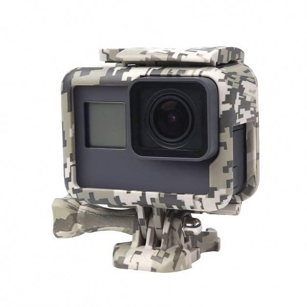 Skyddsram till GoPro Hero5 Kamouflage Sand