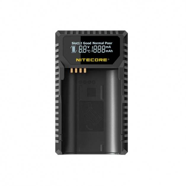 Nitecore Batteriladdare ULSL för Leica BP-SCL4 batterier