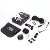 AriMic Lavalier Lapel, Dubbel Mikrofon till Mobil / Kamera / PC - 600cm - Kit