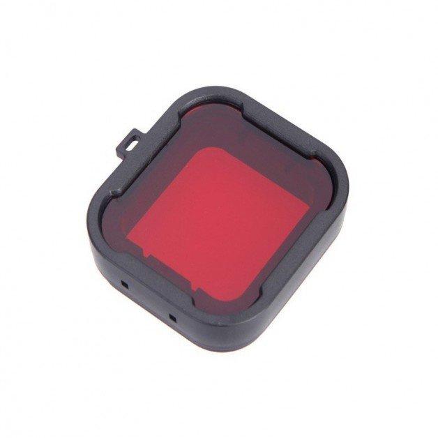 Färgfilter för dyking Röd