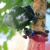 """Tripod flexibelt 360 grader kulledshuvud 1/4"""" skruv / mobilhållare - bläckfisk"""