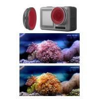 Färgfilter för dykning Röd - DJI Osmo Action