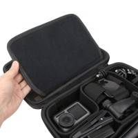 Väska / Förvaring mellan för DJI Osmo Action / GoPro / Kamera och tillbehör - DIY - Grå
