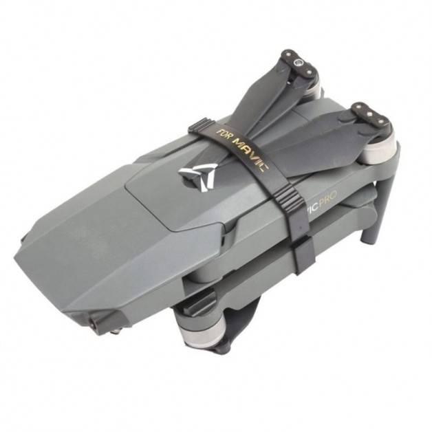 Transportsäkring för propellrar / motorarmar till DJI Mavic Pro Kit 2-Pack - Svart