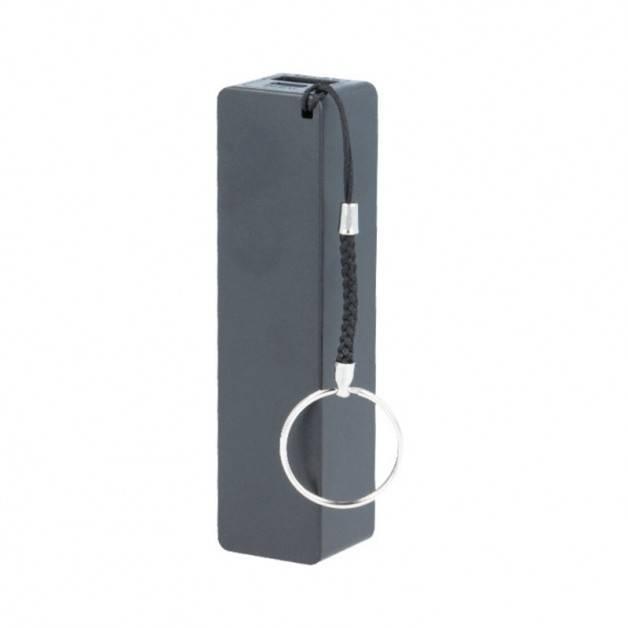 Setty Power Bank - Portabelt batteri - 2600mAh, 1 x USB Typ A hona, 5V 1A - Svart