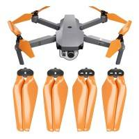 Master Airscrew - DJI Mavic Pro Stealth Upgrade Propellers - Propeller till DJI Mavic Pro - Orange - Kit 4-Pack