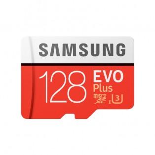 Samsung microSD EVO Plus 128GB (R100/W90 Mb/s) Minneskort SDXC