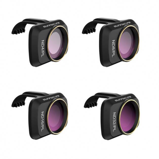 Filter 4-pack - ND4/PL + ND8/PL + ND16/PL + ND32/PL till DJI Mavic Mini - Kit