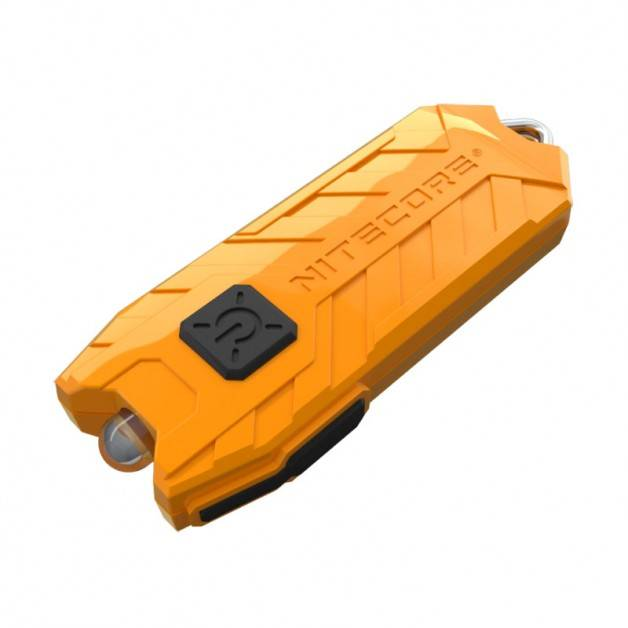 Nitecore TUBE V2.0 Nyckelringslampa - Orange - 55lm