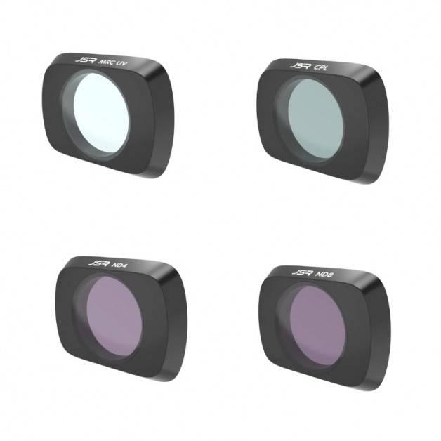 JSR Filter 4-pack - MCUV + CPL + ND4 + ND8 till DJI Mavic Air 2 - Kit