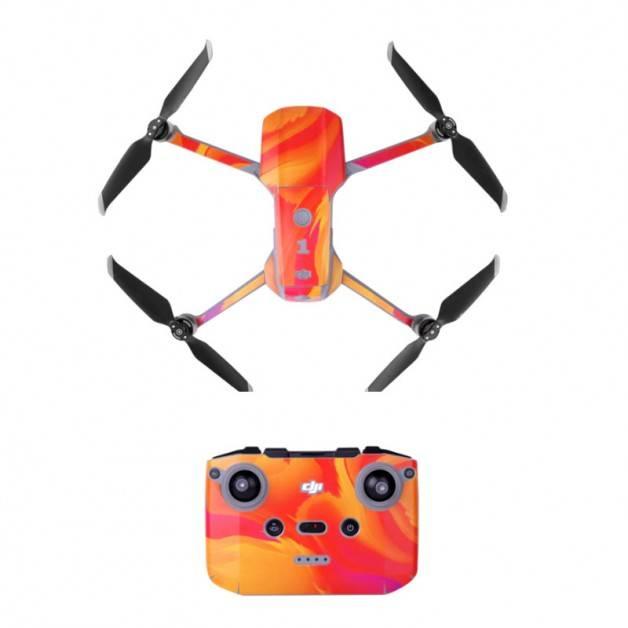 Klistermärke / Skin till DJI Mavic Air 2 - Orange