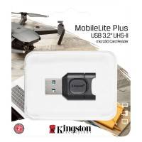 Kingston MobilLite Plus microSD - Minneskortläsare - USB 3.2