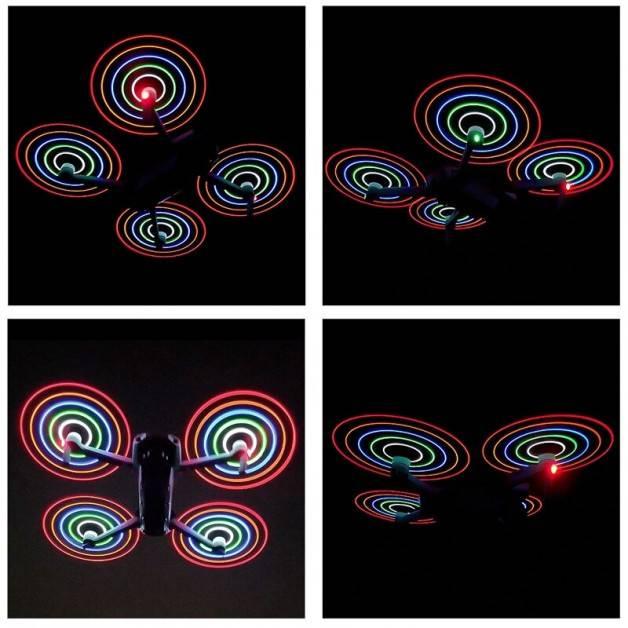 Propeller LED till DJI Mavic Air 2 - ersätter 7238 - Kit 2-Pack