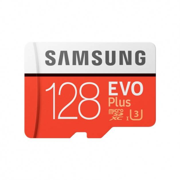 Samsung microSD EVO Plus 128GB (R100/W60 Mb/s) Minneskort SDXC