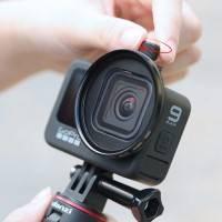 Ulanzi G9-13 Filteradapter 52mm till GoPro Hero9 Black - Aluminium