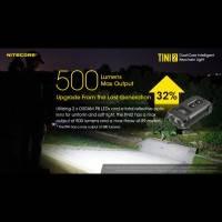 Nitecore TINI2 Nyckelringslampa - Svart - 500lm