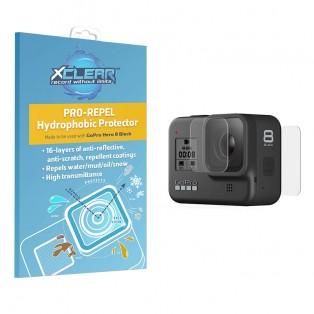 Xclear Pro-Repel Hydrophobic Protector - Hydrofobiskt Linsskydd och skärmskydd till GoPro Hero8 Black - Kit