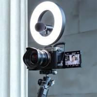Ulanzi VIJIM VL64 Ring-Belysning LED för foto / video - 2000mAh internt batteri - 700lux