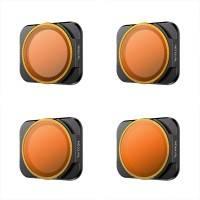 Filter 4-pack - ND8/PL + ND16/PL + ND32/PL + ND64/PL till DJI Air 2S - Kit