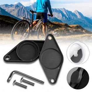 ActionKing Hållare skruvinfästning till Cykel för Apple AirTag - Svart